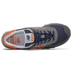 New Balance ML574EAF Herren Sneaker grau blau orange 774921-60 121 – Bild 3