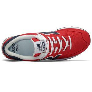 New Balance ML574SCH Herren Sneaker rot blau weiß 774931-60 4 – Bild 3