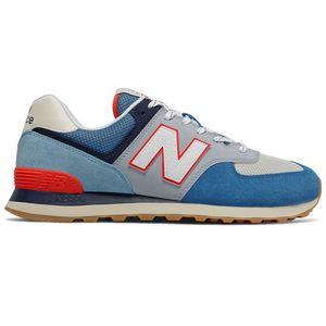 New Balance ML574SOS Herren Sneaker blau weiß rot 774941-60 5 – Bild 1