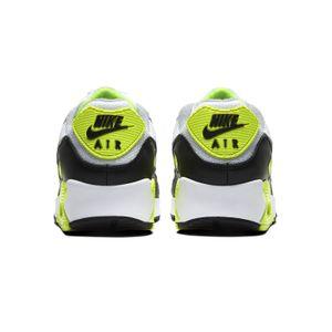 Nike Air Max 90 Herren Sneaker weiß grau neon – Bild 4