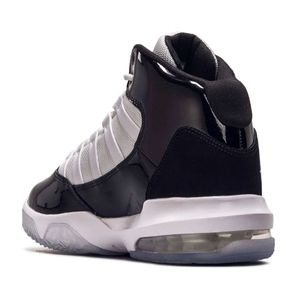Jordan Max Aura GS Sneaker schwarz weiß AQ9214 011 – Bild 3