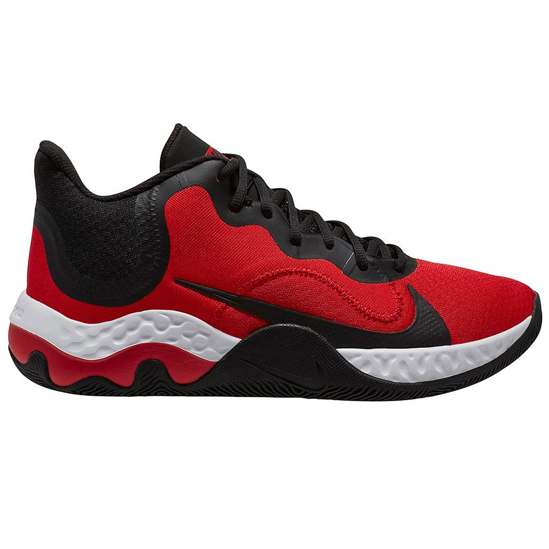 Nike Renew Elevate Basketballschuhe schwarz rot