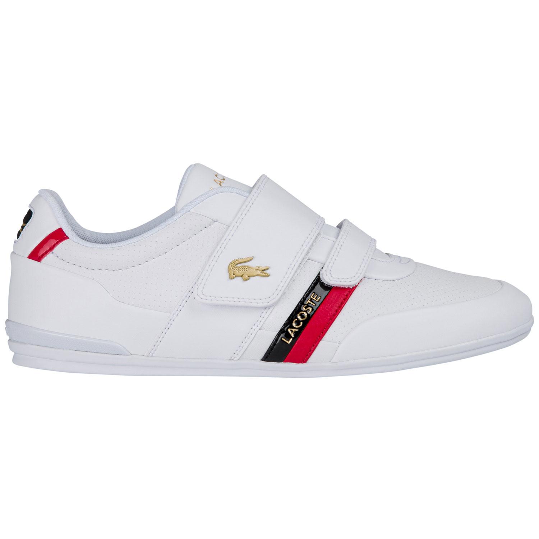 Lacoste Misano Sneaker Herren weiß rot