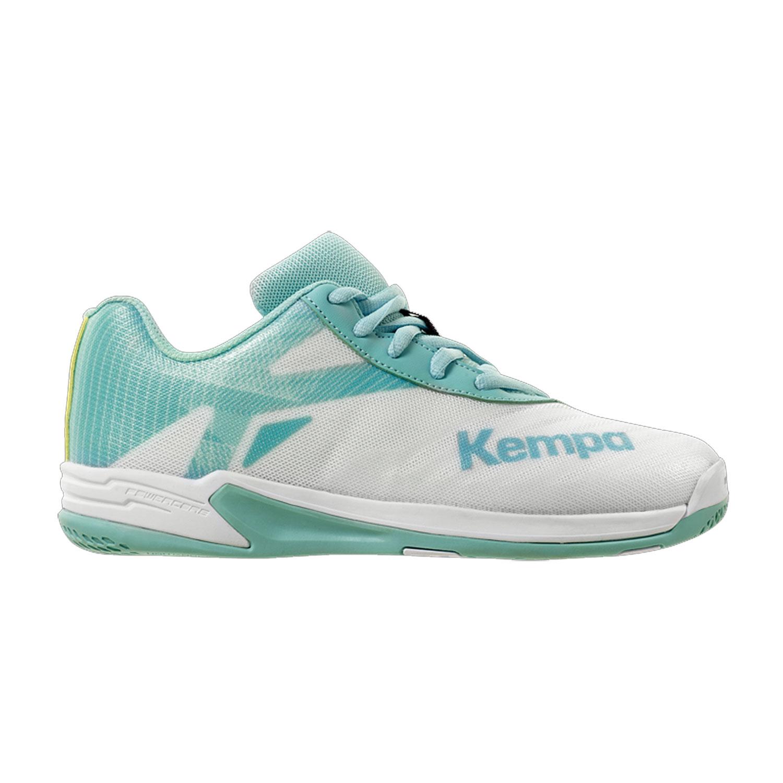 Kempa Wing 2.0 Handballschuhe Kinder weiß türkis 200856005