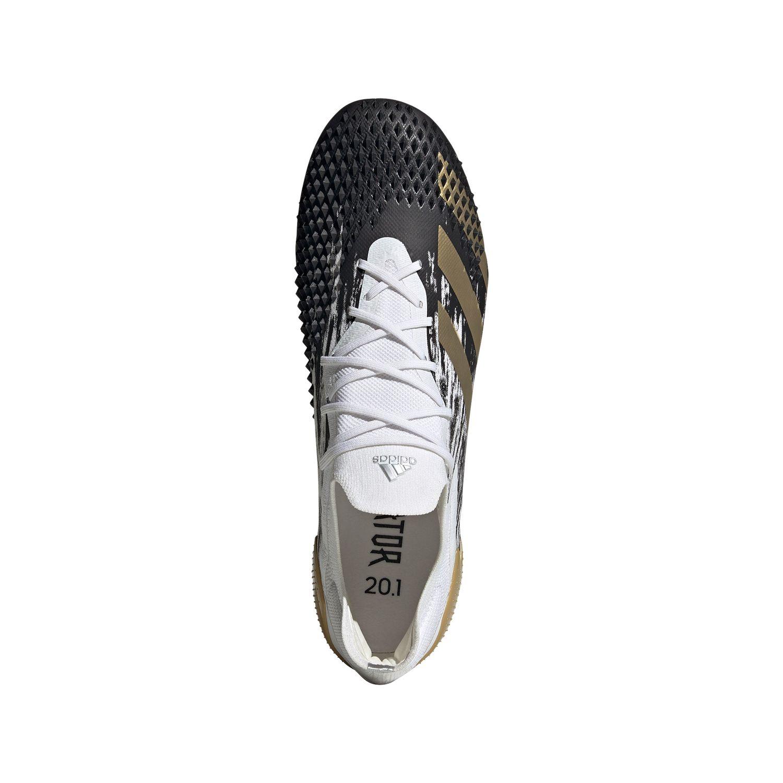 adidas Predator Mutator 20.1 L FG Fußballschuh weiß schwarz gold