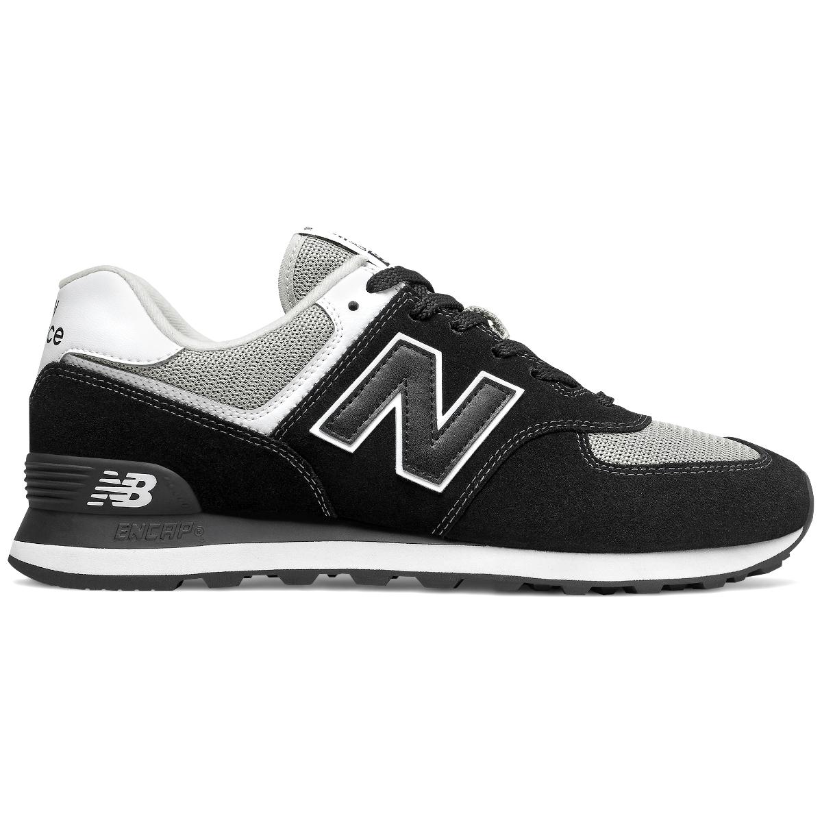 New Balance ML574SSN Sneaker schwarz weiß grau