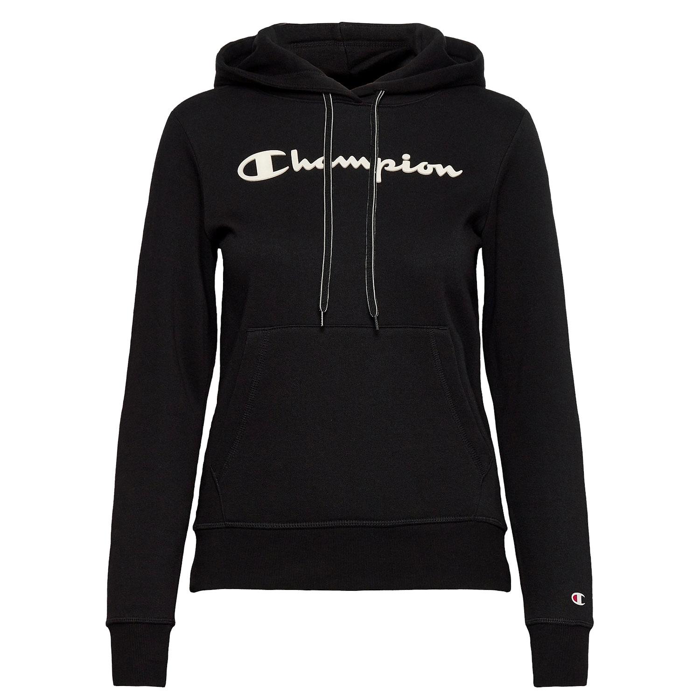 Champion Hooded Sweater Fleece Damen schwarz 113207 KK001