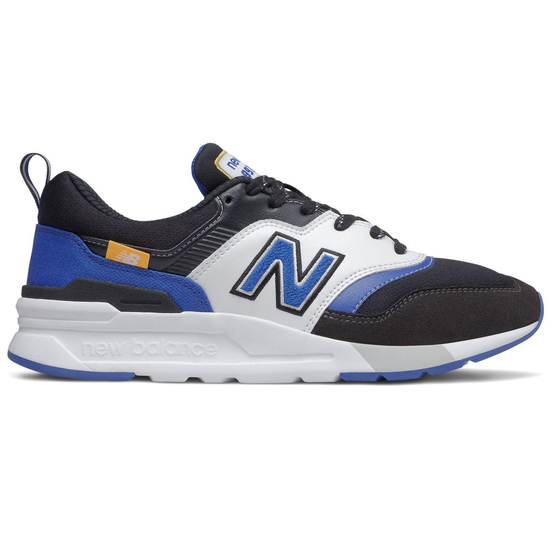 New Balance CM997HEV Herren Sneaker black team royal