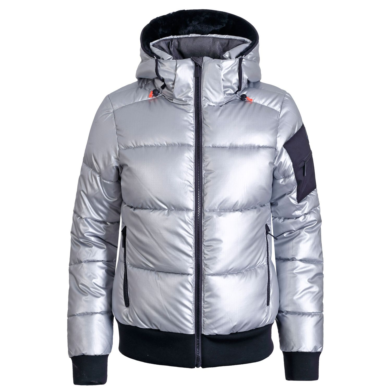 Icepeak Europa Jacket Damen Ski-, Snowboardjacke Silber