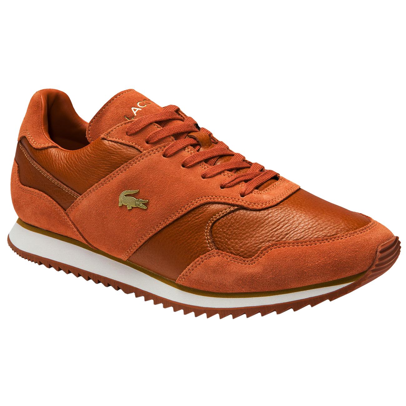 Lacoste Aesthet Luxe Sneaker braun weiß 7-40SMA00282A5