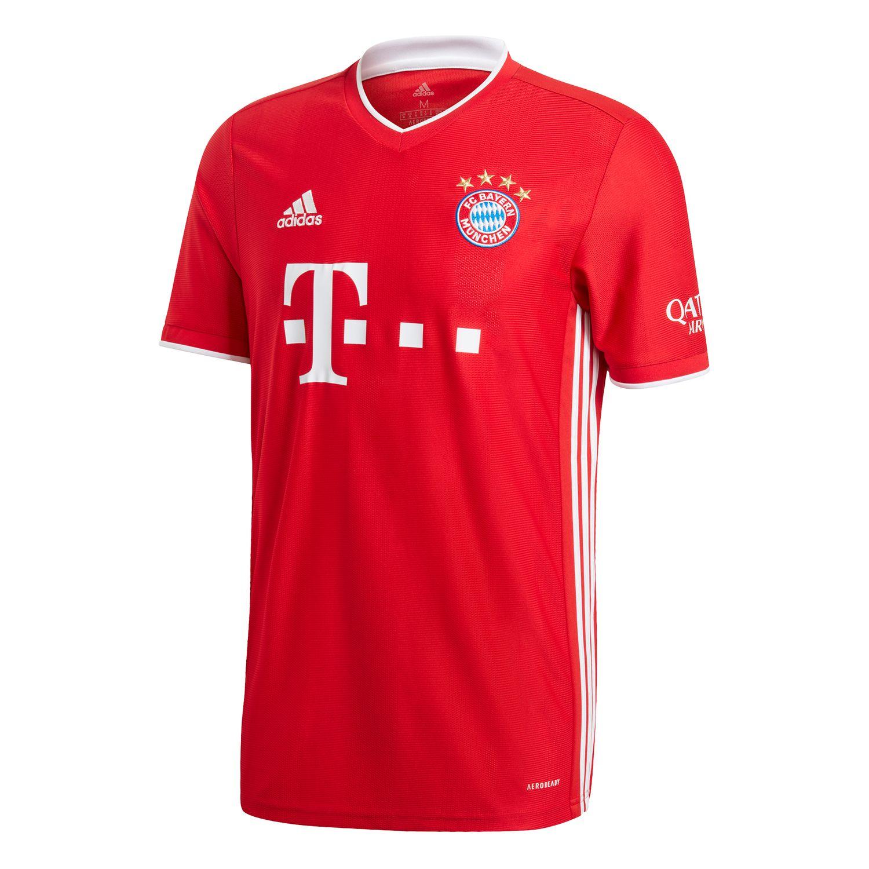 adidas FC Bayern München Trikot Home rot 20/21 Herren FR8358