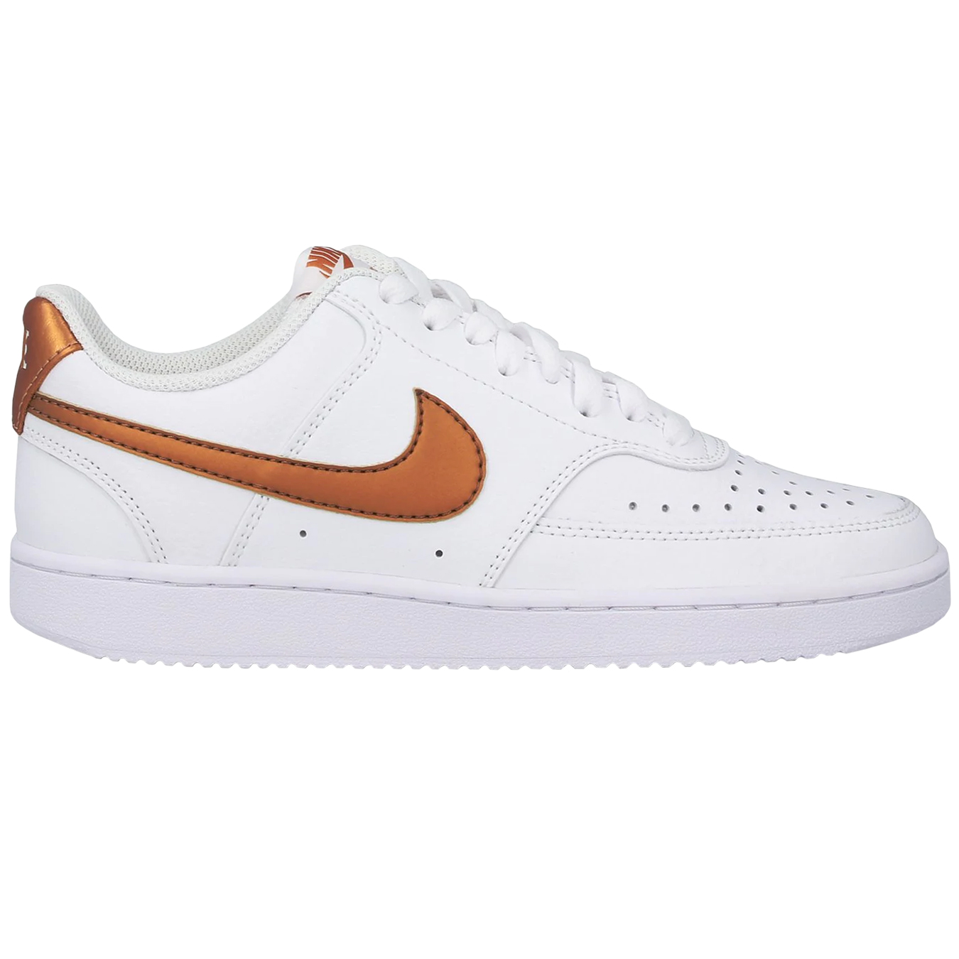 Nike WMNS Court Vision Low Sneaker weiß bronze CD5434 107