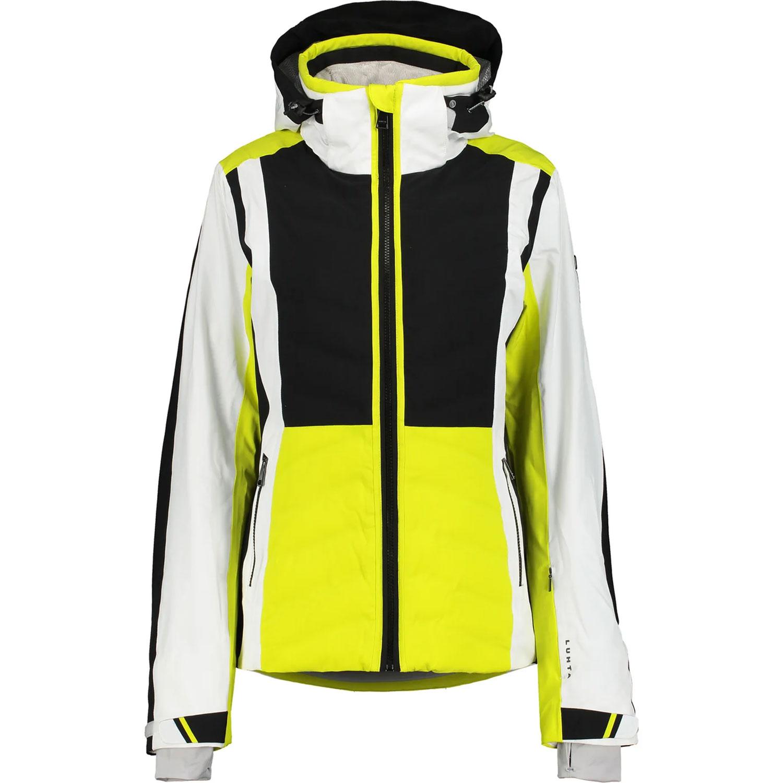 Luhta Emkarby Damen Skijacke gelb schwarz weiß 6 36408 535L 430