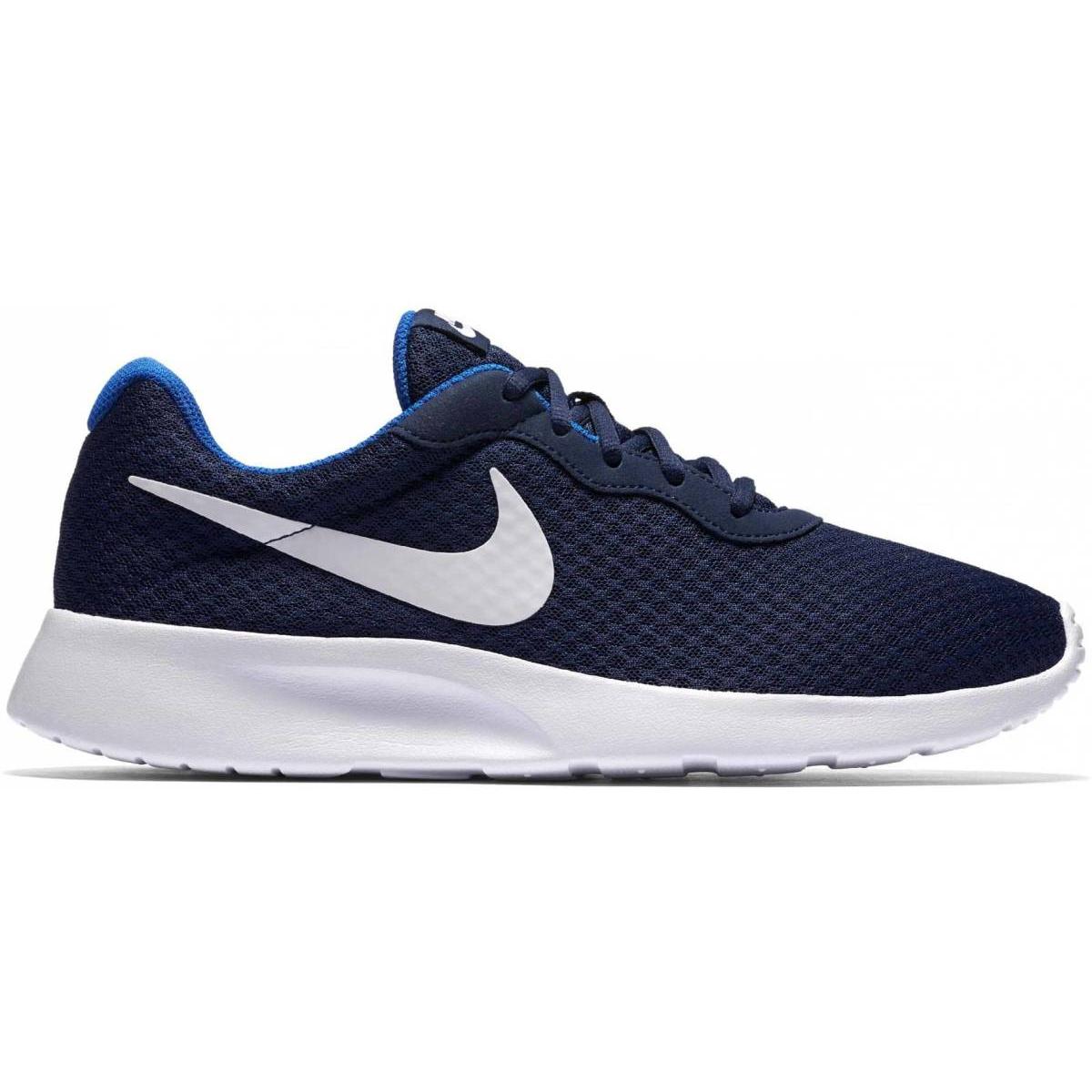 Nike Tanjun Sneaker blau weiß 812654 414