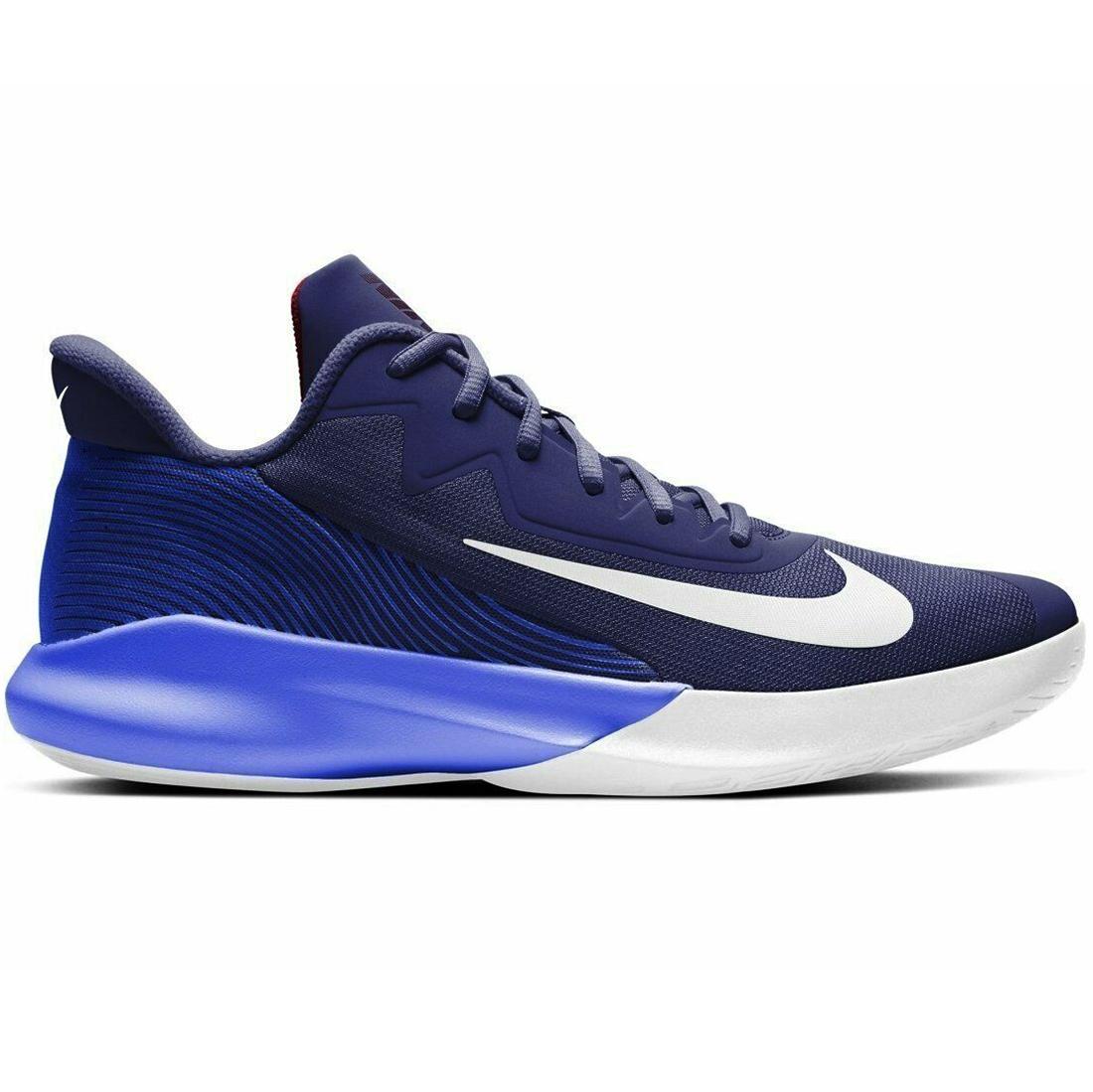 Nike Precision IV Herren Basketballschuh blau weiß CK1069 400