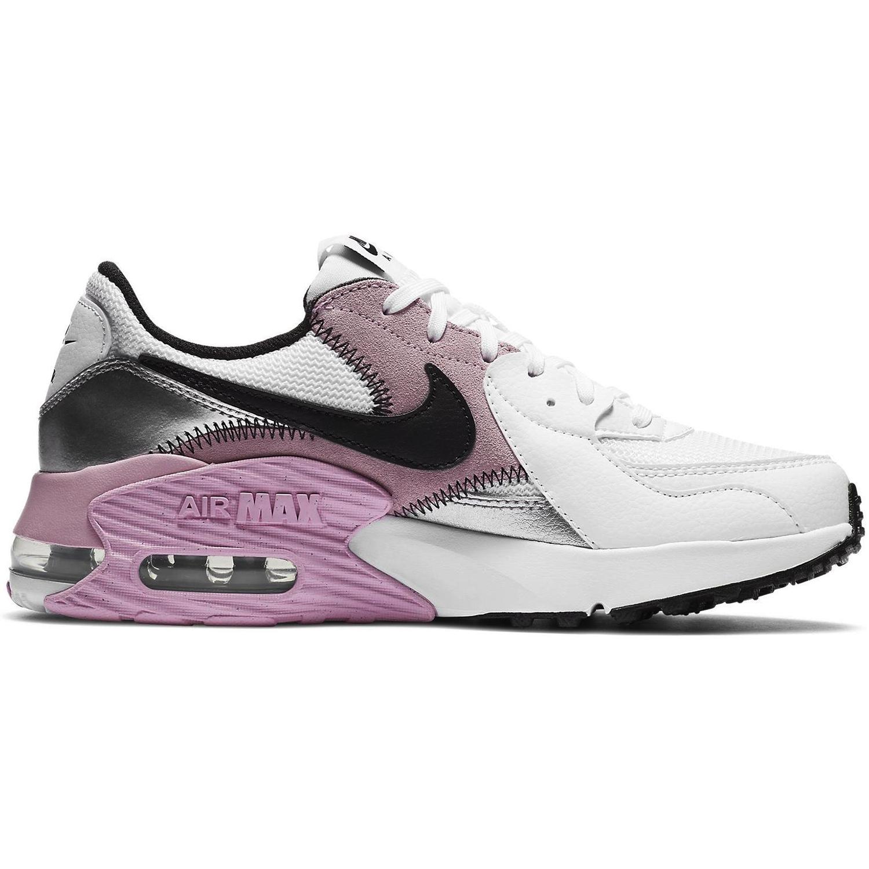 Nike WMNS Air Max Excee Sneaker weiß schwarz rosa silber CD5432 109