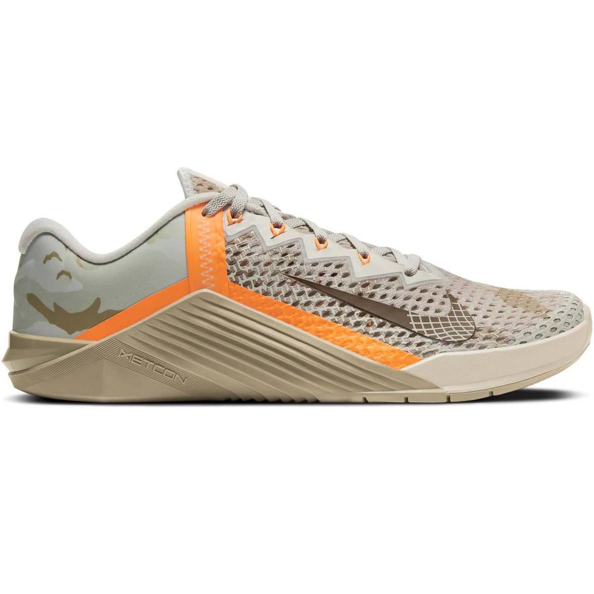 Nike Metcon 6 Trainingsschuh Fitness grau orange camo CK9388 028