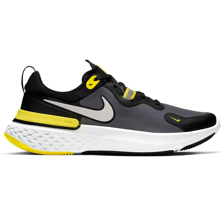 Nike React Miler Running schwarz gelb CW1777 009