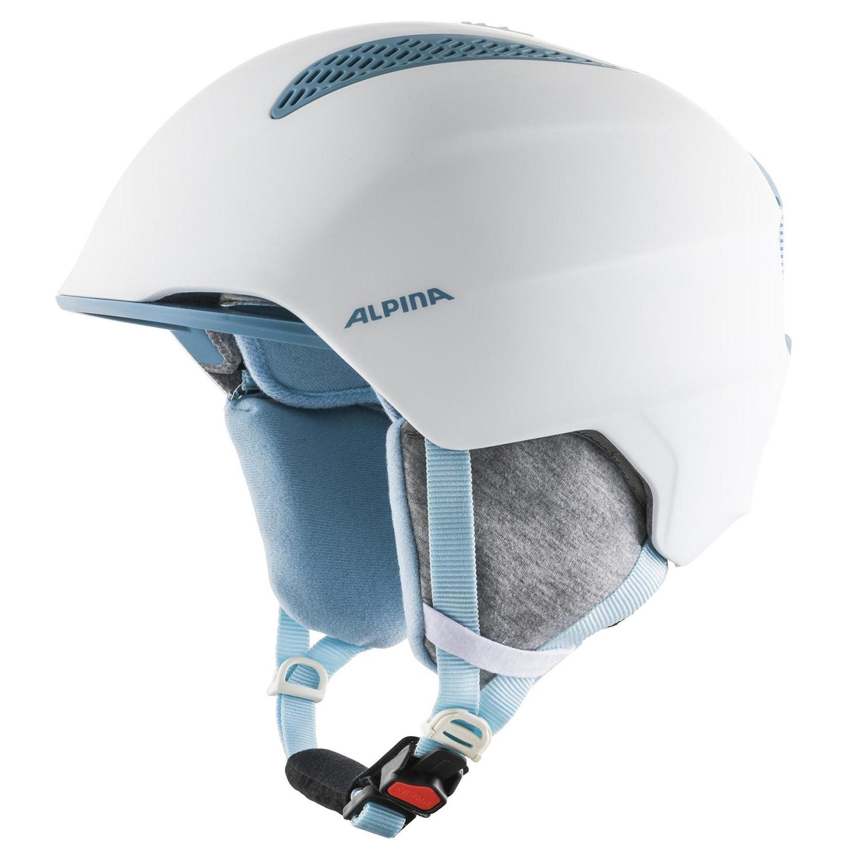 Alpina Grand Junior Skihelm white skyblue 54 - 57 cm A9224280