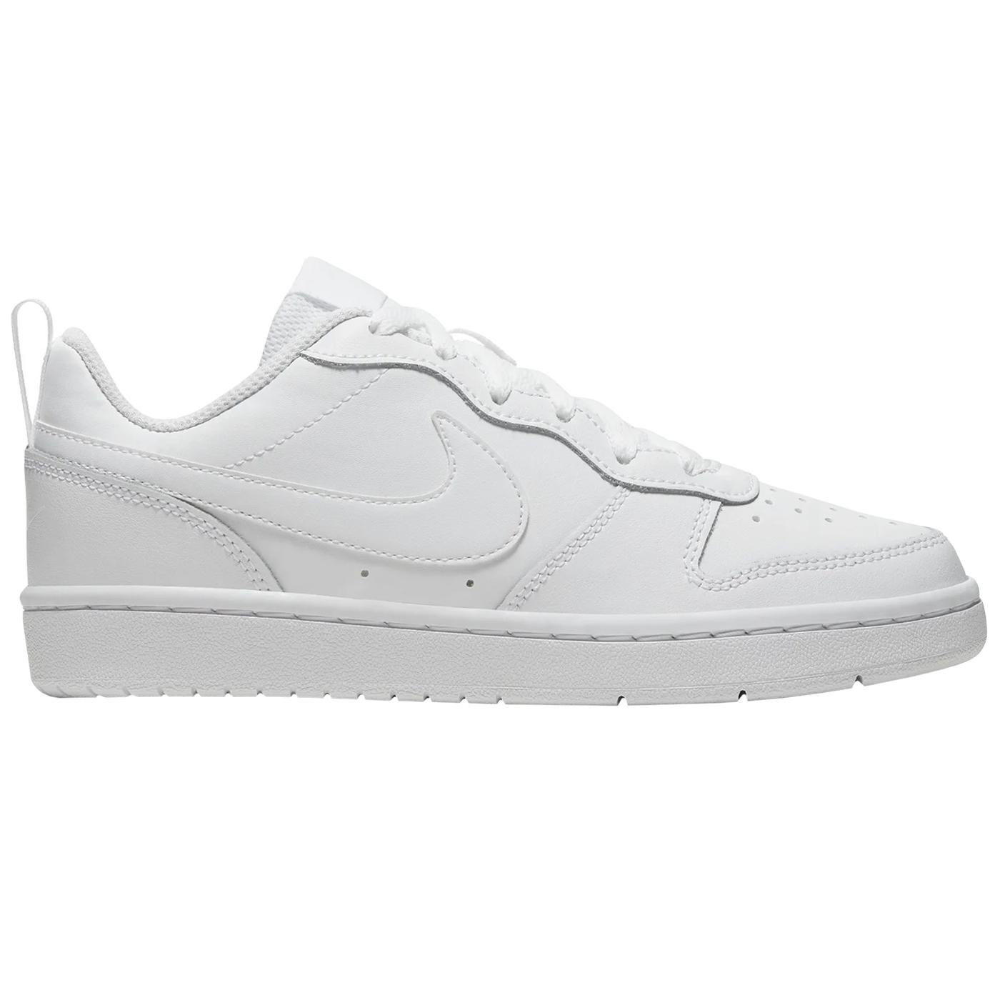 Nike Court Borough Low 2 GS Kinder Sneaker weiß BQ5448 100