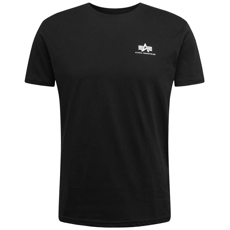 Alpha Industries Backprint T schwarz Herren T-shirt 128507 03