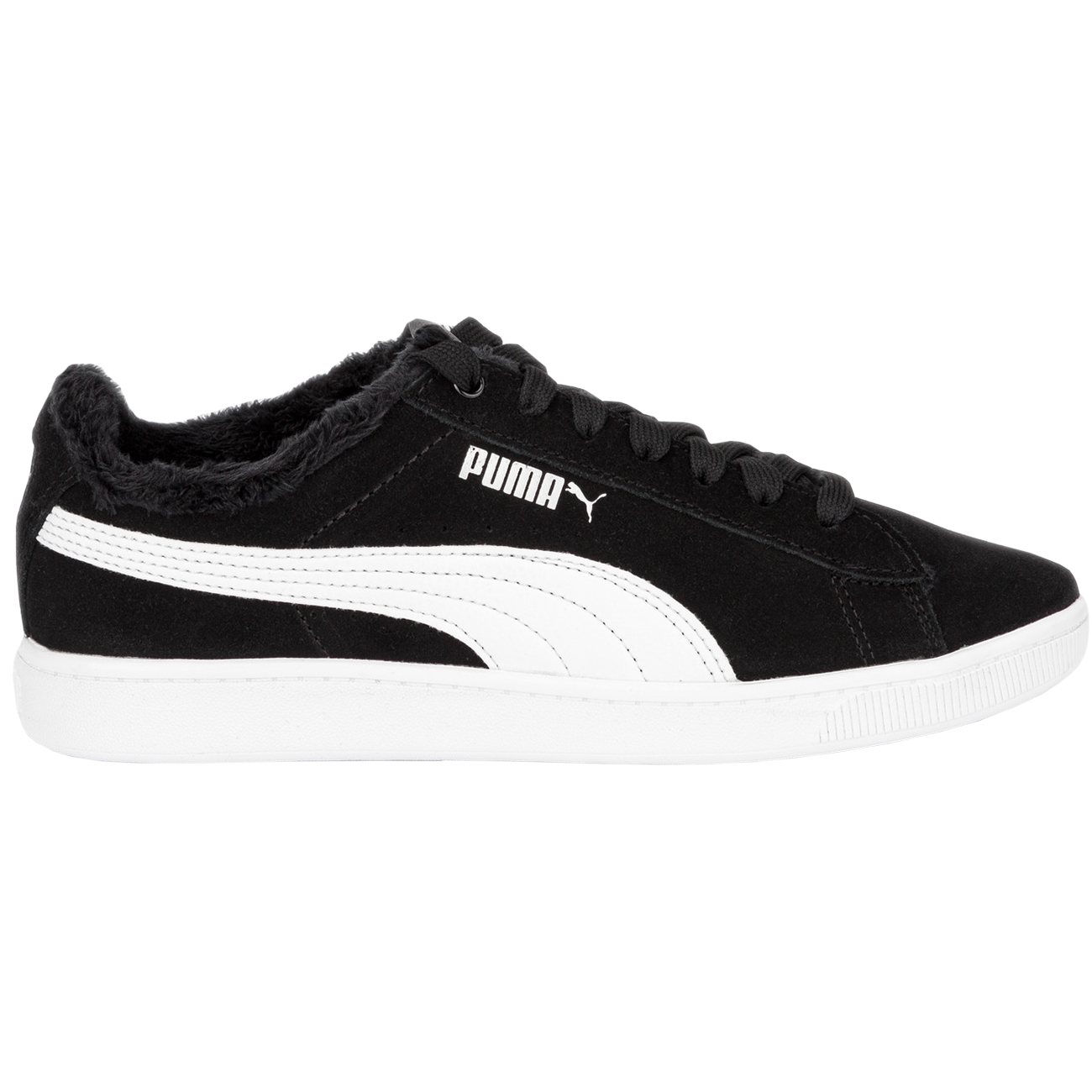 Puma Vikky v2 Fur Damen Sneaker schwarz weiß