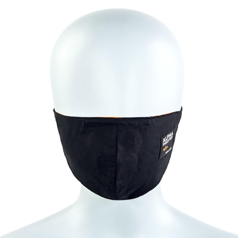 Alpha Industries Label Mund-Nasenmaske 128941/03 black