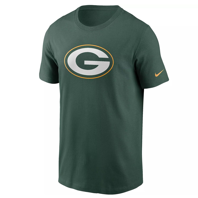Nike Green Bay Packers Logo Essential Tee grün N199-3EE