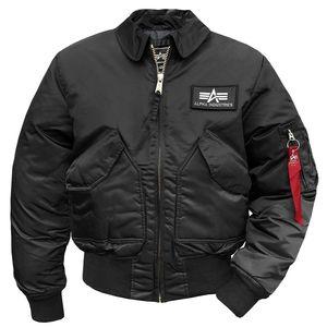 Alpha Industries Men's CWU 45 Jacke schwarz – Bild 1
