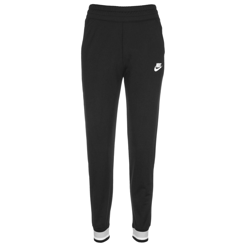 Nike Damen NSW Heritage Jogginghose schwarz