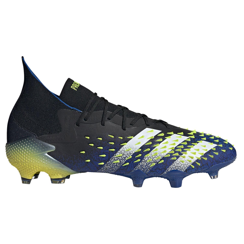 adidas Predator Freak 1 FG Herren Fußballschuh schwarz blau gelb