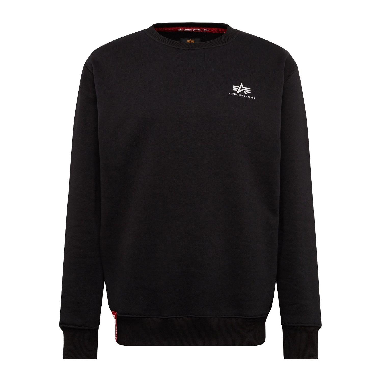 Alpha Industries Basic Sweater Small Logo schwarz 188307 03