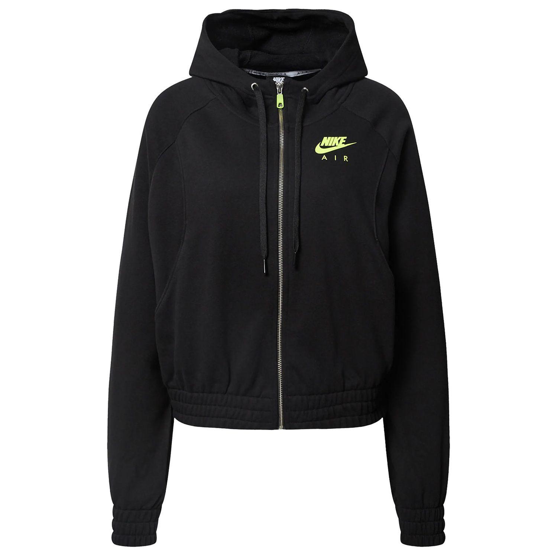Nike Air Womens Kapuzenjacke Damen schwarz gelb