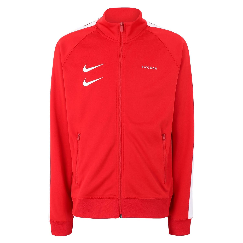 Nike NSW Swoosh Jacket Herren rot weiß
