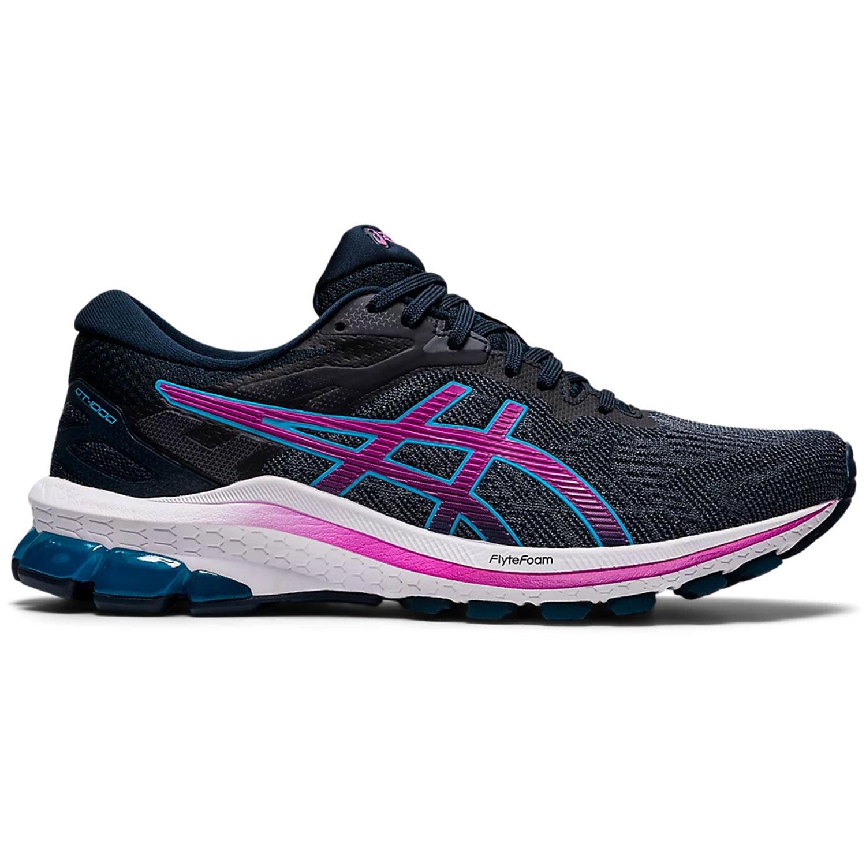 Asics GT-1000™ 10 Damen Laufschuhe Running grau pink blau
