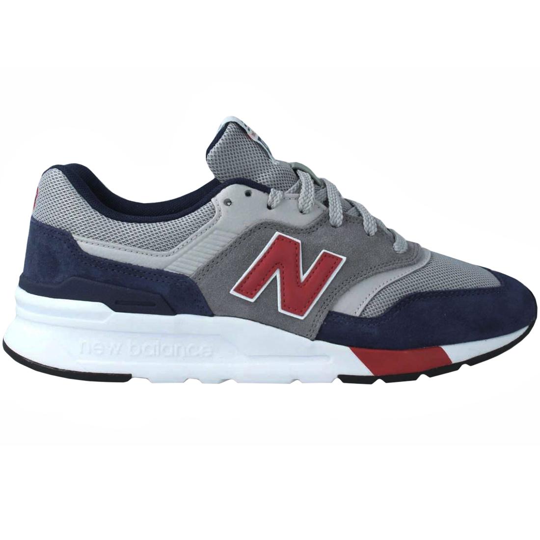 New Balance CM997HVR Sneaker grau blau rot