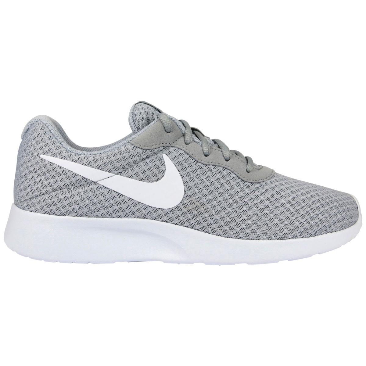 Nike Tanjun Sneaker grau weiß