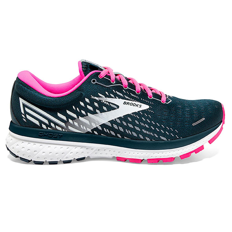 Brooks Ghost 13 Damen Running reflective pond pink 120338 1B 391