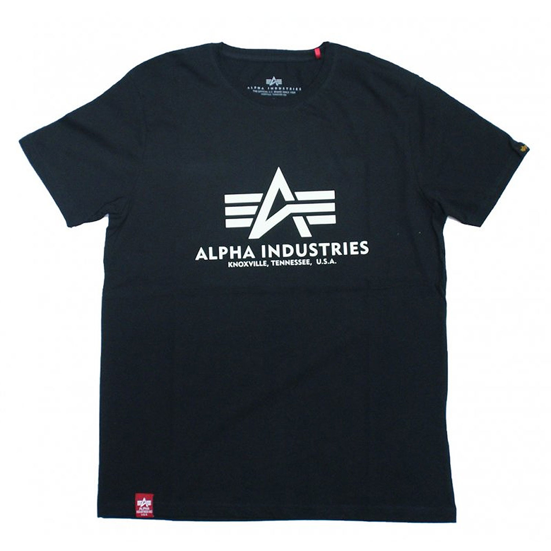 Alpha Industries Basic Kryptonite T-Shirt glow in the Dark