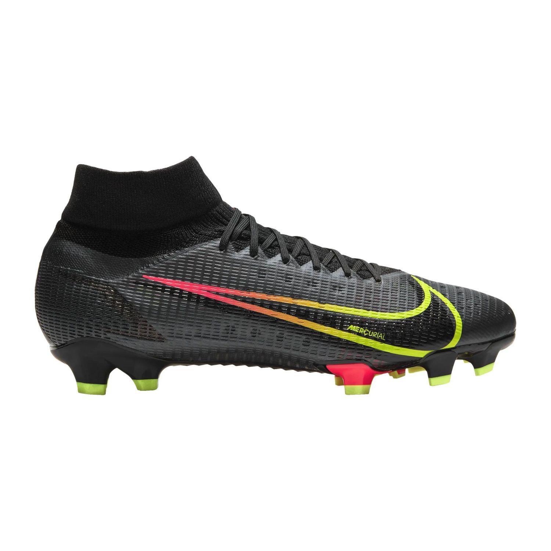 Nike Superfly 8 Pro FG Fußballschuhe schwarz gelb rot