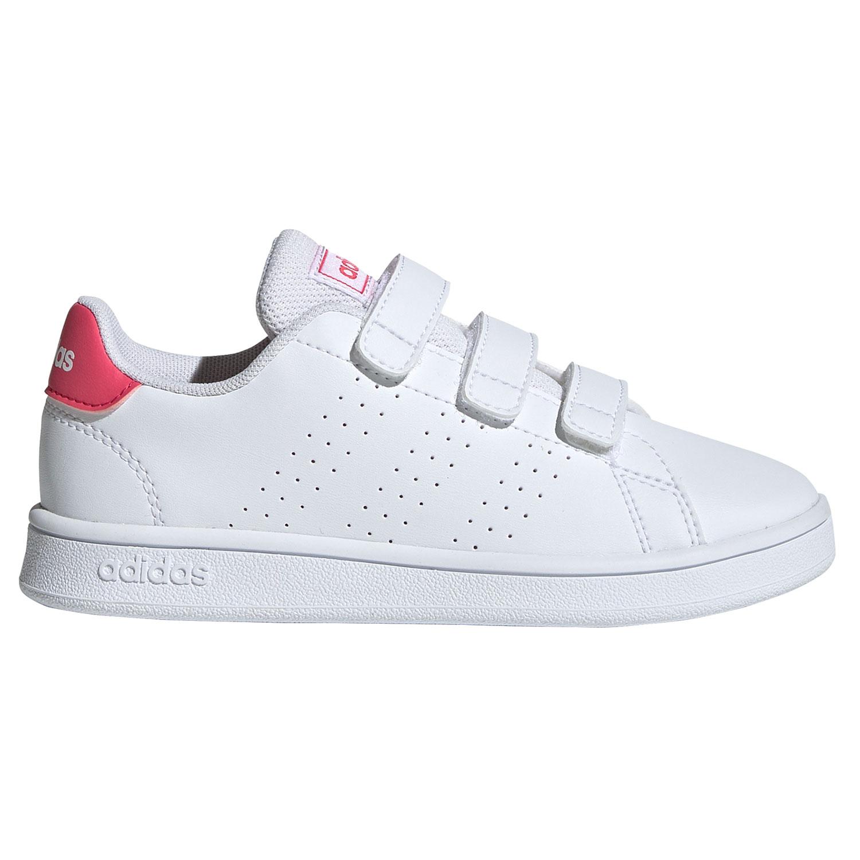 adidas Performance Advantage C Sneaker weiß pink EF0221