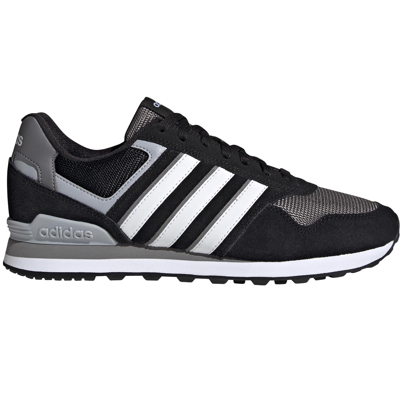 adidas 10K Herren Sneaker schwarz grau weiß GZ8594