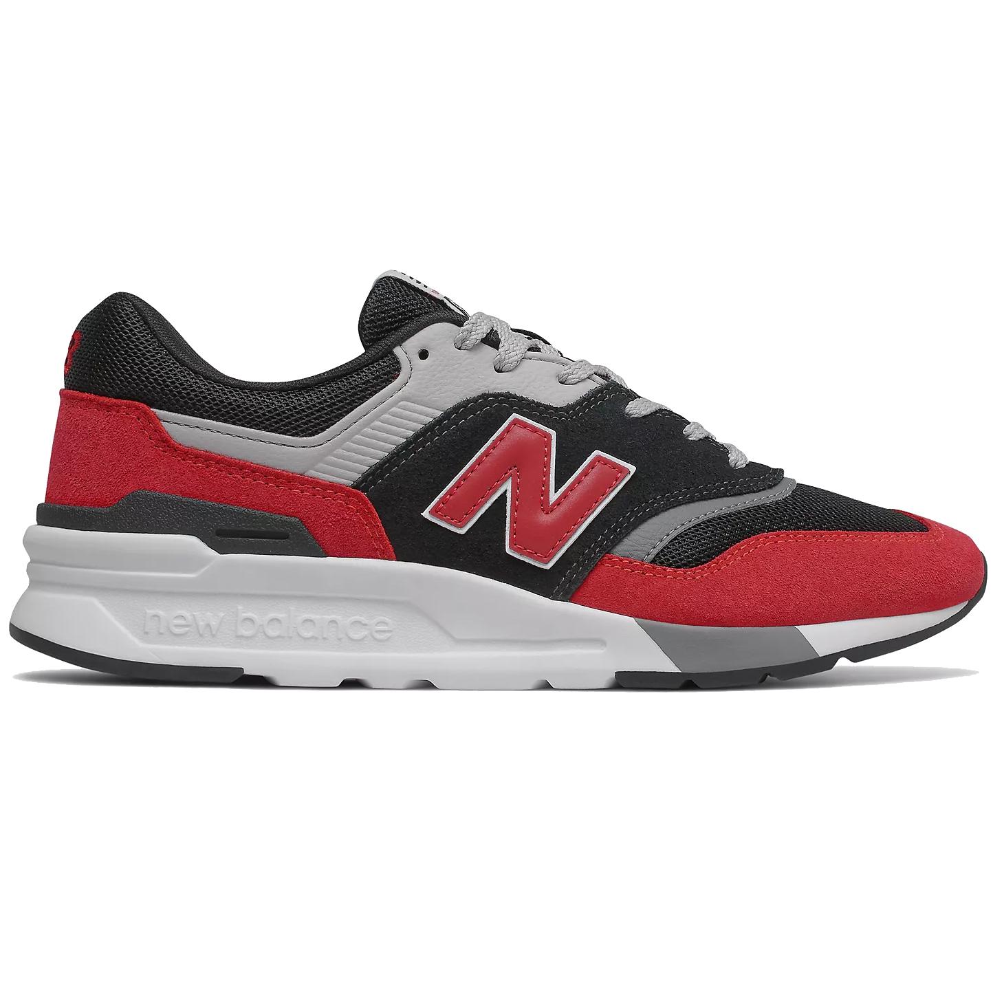 New Balance CM997HVP Sneaker schwarz rot grau