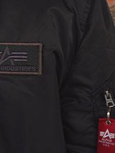 Alpha Industries Bomberjacke MA 1 D-Tec Flieger Jacke schwarz – Bild 6