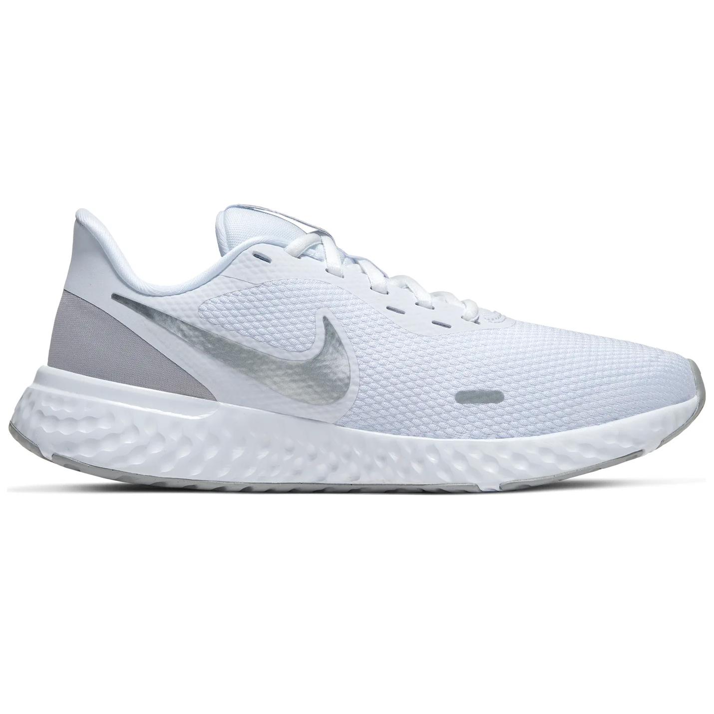 Nike WMNS Revolution 5 Damen Running weiß grau BQ3207 100