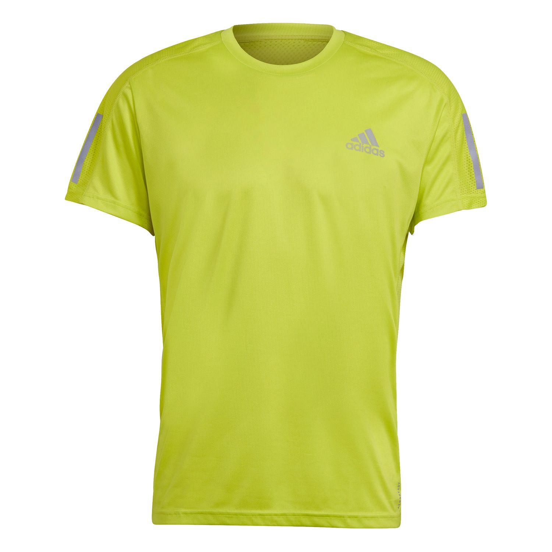 adidas Performance Own The Run T-Shirt Herren gelb GJ9965