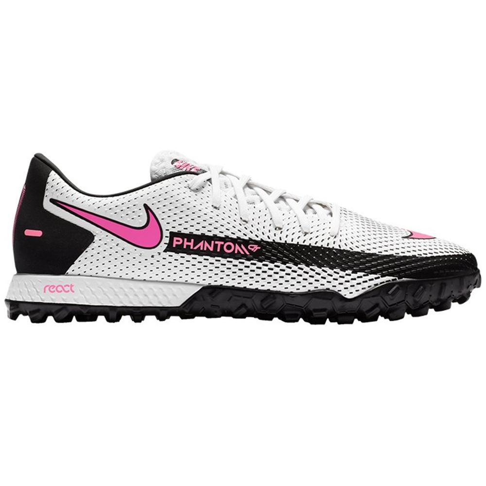 Nike React Phantom GT Pro TF Fußballschuhe weiß schwarz pink CK8468 160