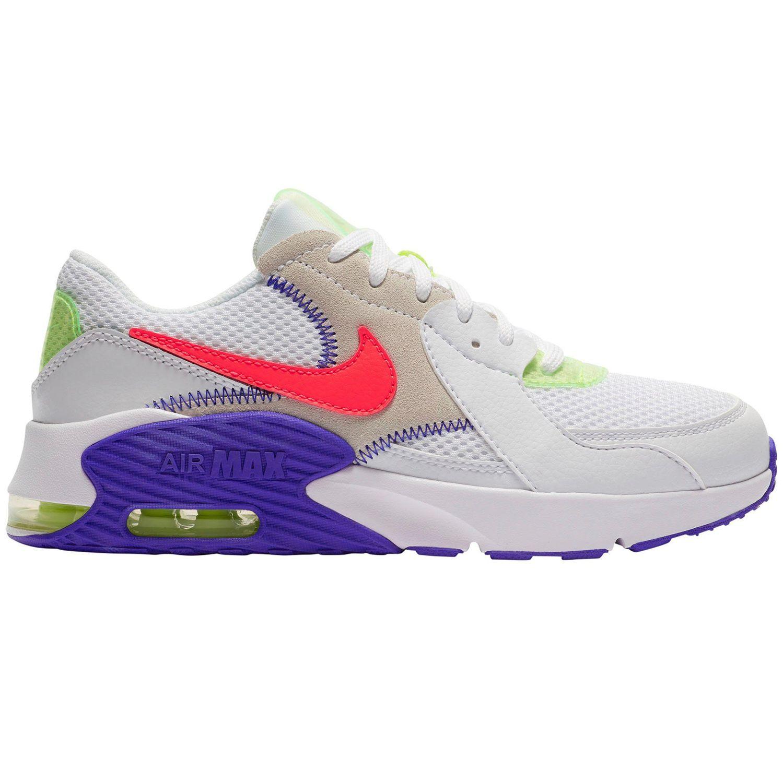 Nike Air Max Excee AMD GS Sneaker weiß blau neon DD4353 100