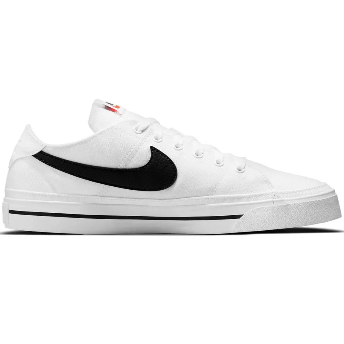 Nike Court Legacy CNVS Sneaker weiß schwarz