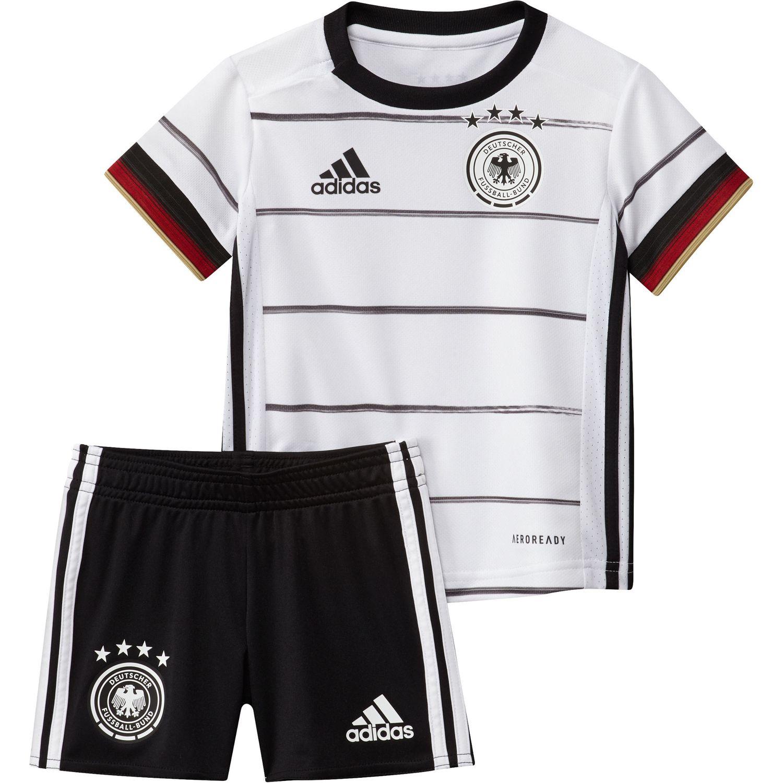 adidas DFB Baby Kit EM 2020 weiß Trikot Hose FS7596